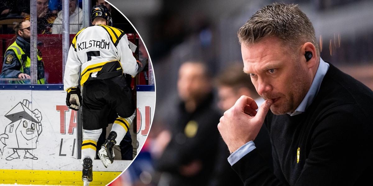 Micke Holmqvist om kommunikationen med Dackell och skadade backen: