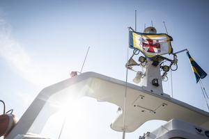 Den svenska och finska sjöräddningen övar tillsammans.