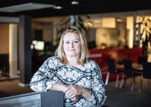 Sandra Bygdén, nyhetschef.