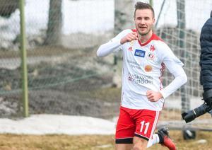 Andreas Smedbakken är tillbaka i spel efter sin skada.