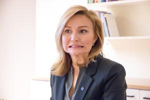 Kristdemokraternas ledare Ebba Busch gjorde bort sig i partiledardebatten i svt tycker insändaren.