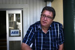 Vill växa. AEB:s Håkan Lodin la en budget på 42 miljoner men tillväxten i Ludvika är så stark att bokslutet slutade på 65 miljoner och i år blir det ännu mer.
