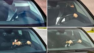 Fyra av de vanligaste sätten för fartsyndare att undvika att åka fast: fälla ner solskyddet, skymma ansiktet med en arm, ducka i rätt ögonblick, samt maskera sig med exempelvis solglasögon och keps.