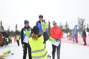Astrid Astrid Øre Slind, Ebba Andersson och Ida Ingemarsdotter var de tre bästa i damklassen.