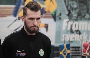Simon Jansson är den VSK-spelare som blivit uttagen i Veckans lag flest gånger den här säsongen.