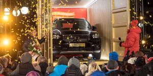 En sprillans ny Volvo fanns i guldcontainern.