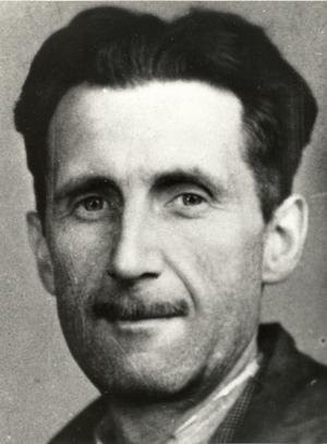 Den brittiske författaren George Orwell synade tidigt Adolf Hitler. Foto: Branch of the National Union of Journalists (BNUJ)