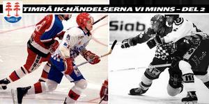 Fredrik Modin och Patrik Hållander i Sundsvall/Timråtröjan