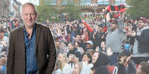 Hans Lindeberg är chefredaktör och ansvarig utgivare för Östersunds-Posten. Bilden är ett montage.
