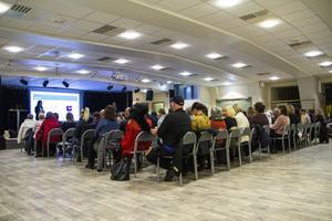 Vårens första lunchföreläsning på Kulturhuset lockade ett hundratal åhörare.