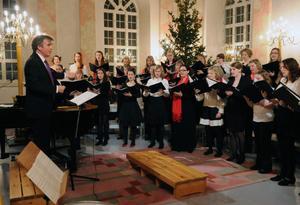 Dirigent och medverkande under musikveckan i Snöån var Richard Cooke.