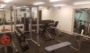 I veckan genomförs de sista renoveringsdetaljerna på lokalen, innan invigning av Z Gym på lördag.