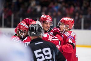 Emil Carnestad är åter med i truppen efter att ha missat lagets tre senaste matcher. FOTO: Bildbyrån