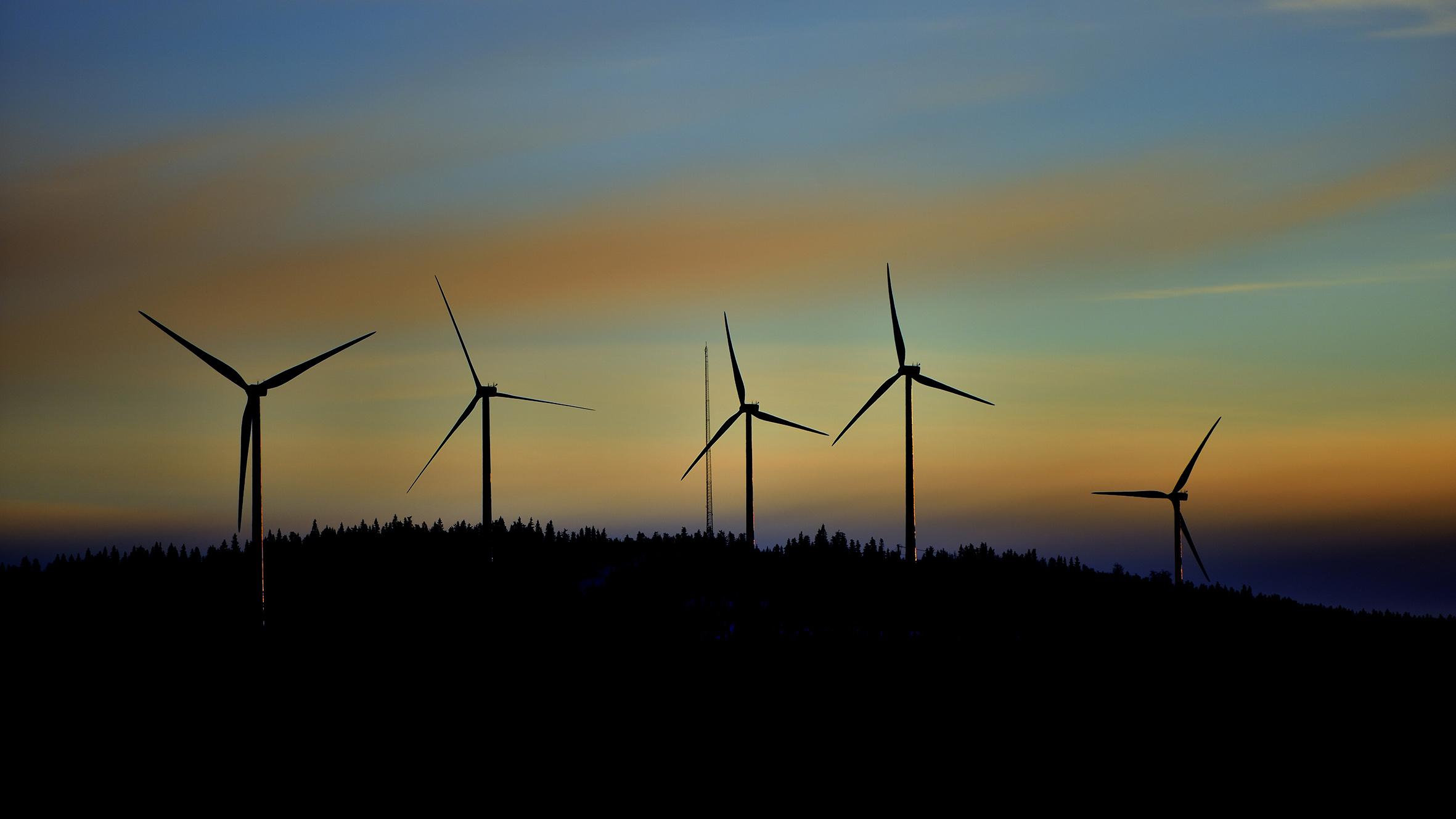Vindkraft kan byggas intill vattenkraftverk