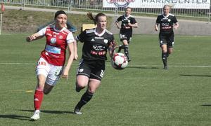 Ett Sandviken i omställningsläge anförda av Simone Edefall var ingen ovanlig syn under säsongen.
