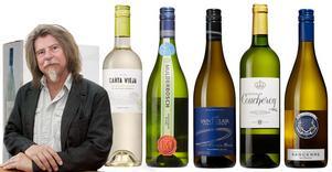 Sex goda, busfärskt fräscha sauvignon blanc-viner och ett med viss mognad och försynt fatprägel.