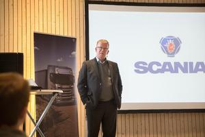 """""""Vi står bakom Södertälje science park för att säkra att det kunnande vi behöver finns i Sverige, vilket ger Scania förutsättningar att fortsätta vara framgångsrika"""" sa Lars-Henrik Jörnving när han talade under Science week i början av året."""