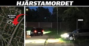Klockan 22.54 var polisens tekniker och rättsläkaren klara med undersökningen och den döda kroppen fördes bort från platsen.