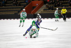 Jacob Bucht och Ludvig Johansson hade täta dueller tidigare under säsongen.