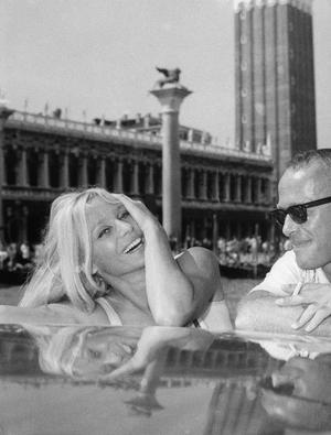Ingrid Thulin och Harry Schein – ett äkta power couple. Bild: TT