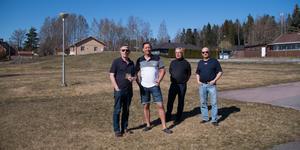 Tord Cajander, Nicklas Nilsson, Bo Ekroth och Vilmer Wallin.