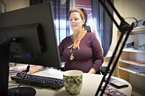 Maria Viklund kände en sorg och saknad efter arbetskamraterna när hon var sjukskriven.