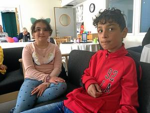Shahd Selman och Mohammed Fakhereddine väntar på resultat.