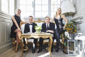 Elisa Lindström kommer att uppträda tillsammans med Magnus Carlsson, Tommy Nilsson och Sofia Källgren i