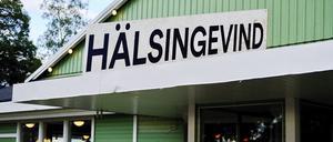 Entrén på Långnäs dansbana.