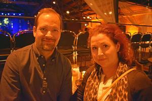 Niklas Tynelius och Lilian Szatmari var där.