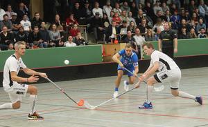 Kristoffer Asp gjorde två tunga mål från sin backposition.