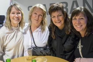 Fredrika Pihlblad, sa Gruvris, Ulrica Björklund och Carin Werkmäster hade höga förväntningar och hoppades på under bältet-humor.