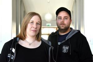 Veronica Östberg och Robin Backäng berättar om den nya verksamheten i ungdomens hus i Orsa.