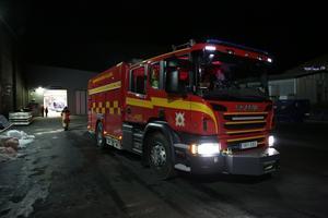 Ambulans och brandbil kallades till platsen.