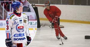 19-årige backtalangen Lukas Pilö är tillbaka i Örebro Hockey, efter ett fantastiskt äventyr i Småland. Nu siktar han på att slå sig in i Niklas Erikssons lag på allvar.