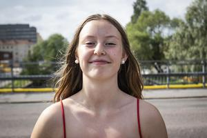 Maia Palmstierna, 13, Elev, Stockholm.