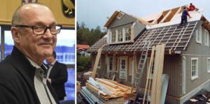 """Bror Wallström, Liberalerna: """"Barnfamiljer ska inte hindras att skapa vettiga bostäder i nya eller befintliga hus på grund av höga kostnader för detaljplaneändringar."""""""