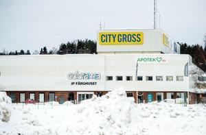 2018. City Gross tog över lokalerna efter Coop Forum och i maj 2007 invigdes den nya butiken. I fastigheten huserar bland annat Dollarstore, Colorama och Frasses.