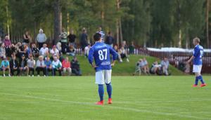 Fredrik Mårtensson gjorde 1–0 för Färila