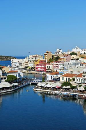 Agios Nikolaos på Kreta.   Foto: Torleif Svensson