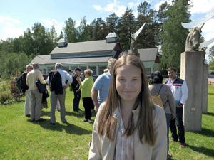 Cajs Larsson Forsberg var en av de yngre besökarna.