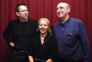 Arkitekt Peter Bohlin, till höger, jobbade i nära samarbete med Ann Marie Ekroth, Koncept, och Richard Tegnér, Aix arkitekter.