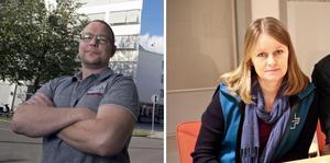 Johan Ask (S) och Lene Lorentzen (S) svarar Anders Karlsson (M) om Västerhöjdskolstarten, en debatt de själva inledde.