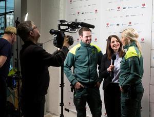 Samtliga kandidater filmades och intervjuades.