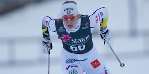 Vansbrotjejen Moa Olsson slutade femma på VM-sprinten i Lettland.