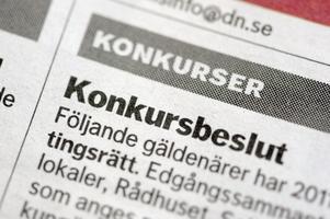 Sverigedemokraterna vill inte se flerkonkurser i coronas spår och kämpar för att företag ska få direktstöd. De jämför med hur krisen hanteras i andra nordiska länder. Foto: Janerik Henriksson