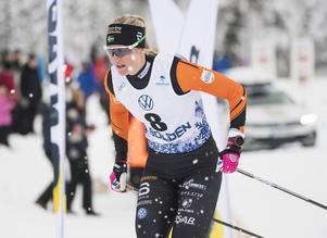 Maja Dahlqvist hade en tung helg i Gällivare.