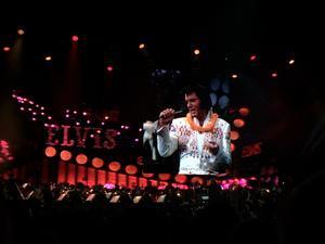 Christer Jonassons egen bild från konserten.
