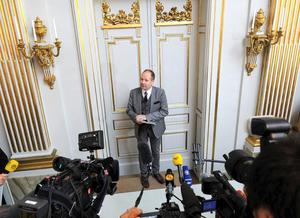 Peter Englund, tidigare ständig sekreterare i Svenska Akademien. Arkivbild.Foto: Fredrik Sandberg/TT