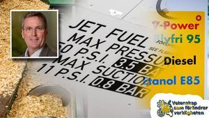 Sverige kan bli självförsörjande på förnybart bränsle till bilar, lastbilar, bussar och flyg. Tekniken för att göra biodrivmedel på restprodukter från skogen finns här och nu. Nu behöver både politiken och näringslivet sätta fart på omställningen för ett fossilfritt Sverige, skriver Tomas Nilsson, vd för kemi- och cleantechföretaget SEKAB. Foto: SEKAB, Christine Olsson/TT,  Pontus Lundahl/SCANPIX